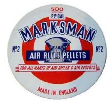 Marksman Domed Pellets .22